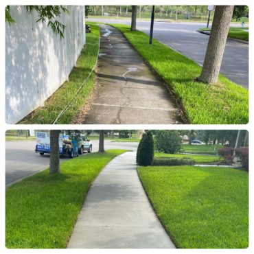 PRESSURE WASHING - SIDEWALK
